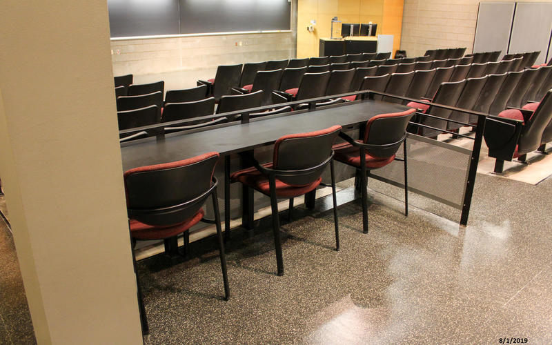 Photo of classroom 101 Biology Building East
