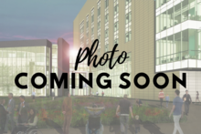 Photo of rendering of College of Pharmacy Building