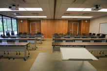 Photo of classroom S106AB College of Public Health Building
