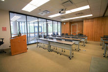 Photo of classroom S106B College of Public Health Building