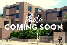 "Image of Lindquist Center with ""Coming Soon"" across it"