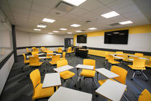 Image of classroom S112 Lindquist Center