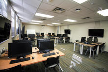 Photo of classroom 18A Phillips Hall